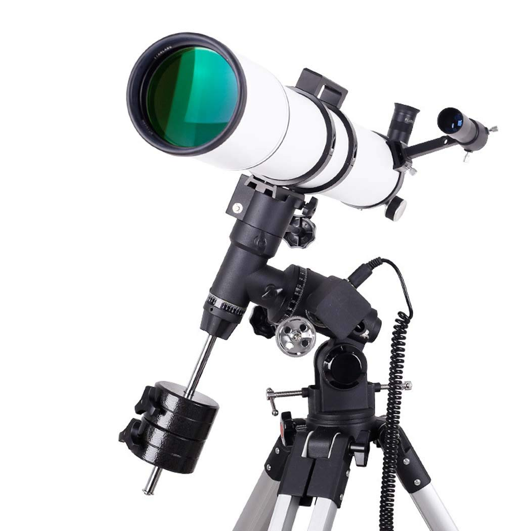 Focal Length 920Mm, 630 Finder Mirror, Multi-Layer Green Film, Telescope Refracting Telescope Adjustable Portable Travel Telescopes for Astronomy with Equatorial Mount by GGPUS