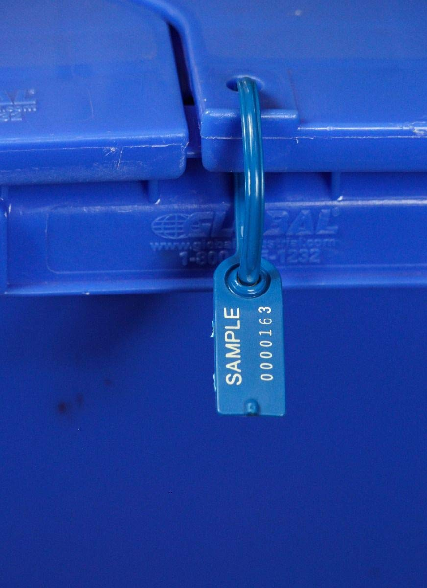 TydenBrooks Security Products, Gemini Tote-Seal, Duplicate Numbers, Blue, 1000 Count