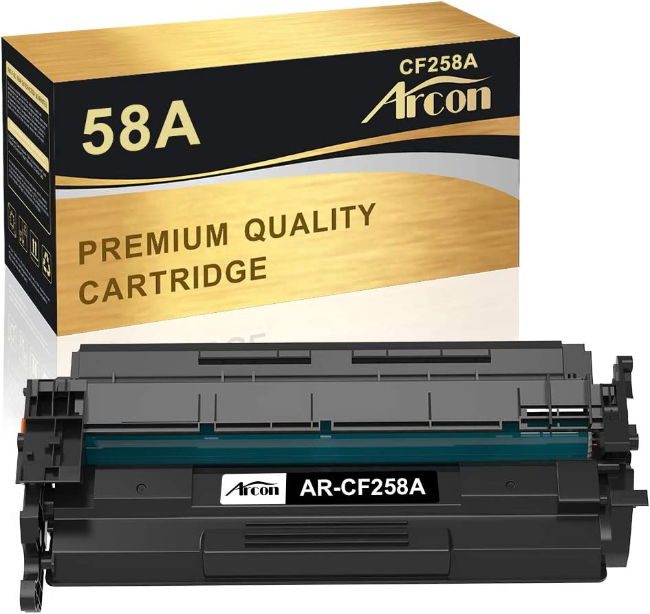 Arcon Compatible Toner Cartridge Replacement for HP 58A CF258A 58X CF258X HP Laserjet Pro MFP M428fdw M428fdn M428dw M428 Laserjet Pro M404dn M404n M404dw M404 M304 Printer Ink (Black, 1-Pack)