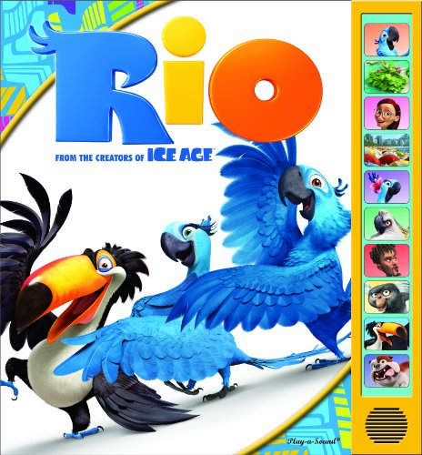 Rio Play A Sound Book Hardcover Bargain Price February