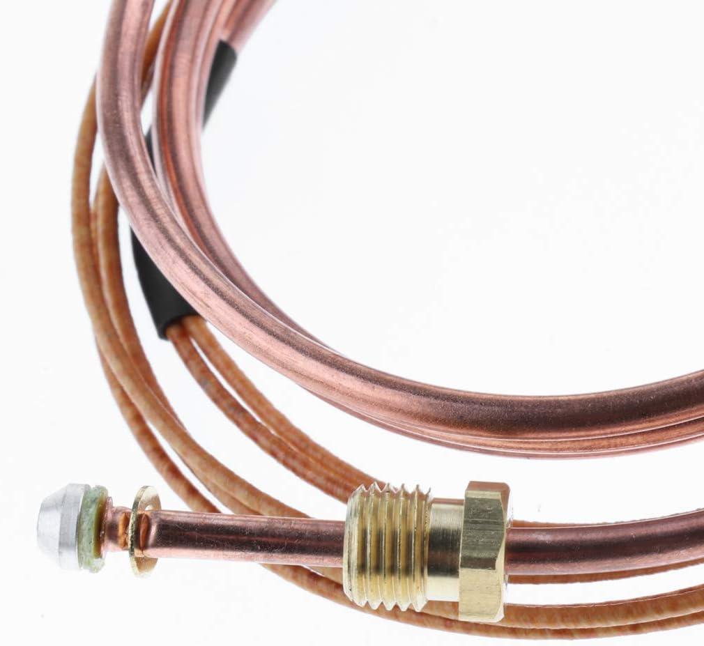 Fireplace Heater Universal Gas Thermocouple Sensor Firepit KESOTO 4ft Propane BBQ Grill