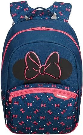 Imagen deSamsonite Disney Ultimate 2.0 - Mochila Infantil S+, 35 cm, 10.5 L, Azul (Minnie Neon)