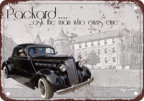 1937-packard-ask-the-man-who-owns-one-vintage-look-reproduction-metal-tin-sign-8x12-inches