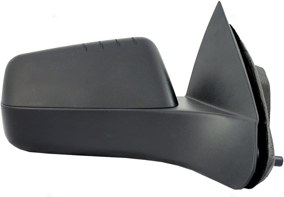 Passengers Power Side View Mirror Textured Replacement for Ford 8S4Z17682BA