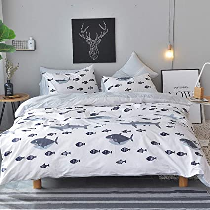 0af74dd72141 Amazon.com  Ocean Whale Sharks Full Size Bedding Sets THE MEG ...