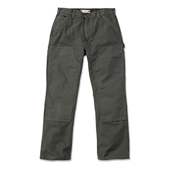 173bd267e2e Carhartt Workwear EB136 Washed Duck Work Dungaree Work Trousers, EB136:  Amazon.co.uk: DIY & Tools