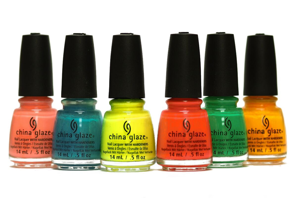Amazon.com : China Glaze Poolside Collection 6pcs : Nail Polish : Beauty
