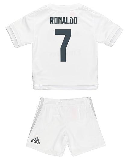 pretty nice 7038d 70c01 Amazon.com: Adidas Ronaldo #7 Real Madrid Home Mini Kit 2015 ...