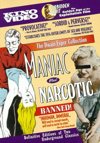 Maniac/Narcotic by Kino Video