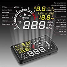 AutoLover® G X3Car OBD II Bluetooth HUD Head Up Display Projector Speed Warning System 5.5 inch