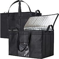 NZ Home Food Delivery Bag | Ideal for Uber Eats, Instacart, Doordash, Grubhub, Postmates, Restaurant, Catering, Grocery…