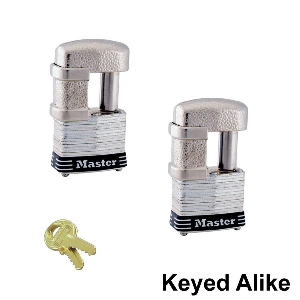 Master Lock - (2 Keyed Alike Trailer & Multi Purpose Padlocks, 37KA-2