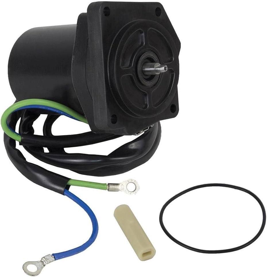 Rareelectrical NEW TILT TRIM MOTOR COMPATIBLE WITH YAMAHA 4-STROKE F75TLR 6D8438800100 6D8-43880-01-00 6D8-43880-01-00 6D8438800100