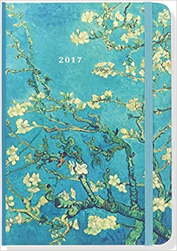 2017 almond blossom weekly planner 16 month engagement calendar