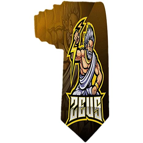 Corbatas Formales Modernas Para Hombres Zeus Sport Mascot Logo ...