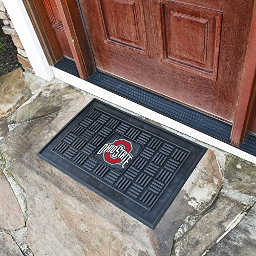 - (Ship from USA) FANMAT 11395 Ohio State Heavy Duty Front Outdoor Mat /ITEM NO#8Y-IFW81854265769