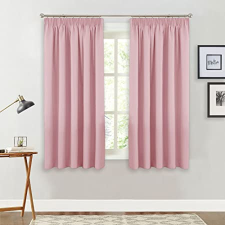 PONY DANCE Pink Curtain Panels