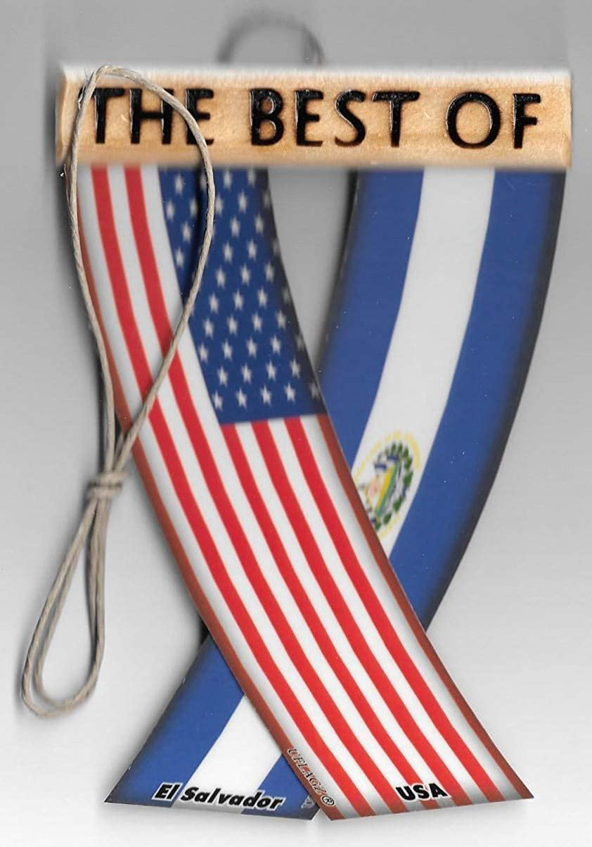 El Salvador Single-Sided Car Flag