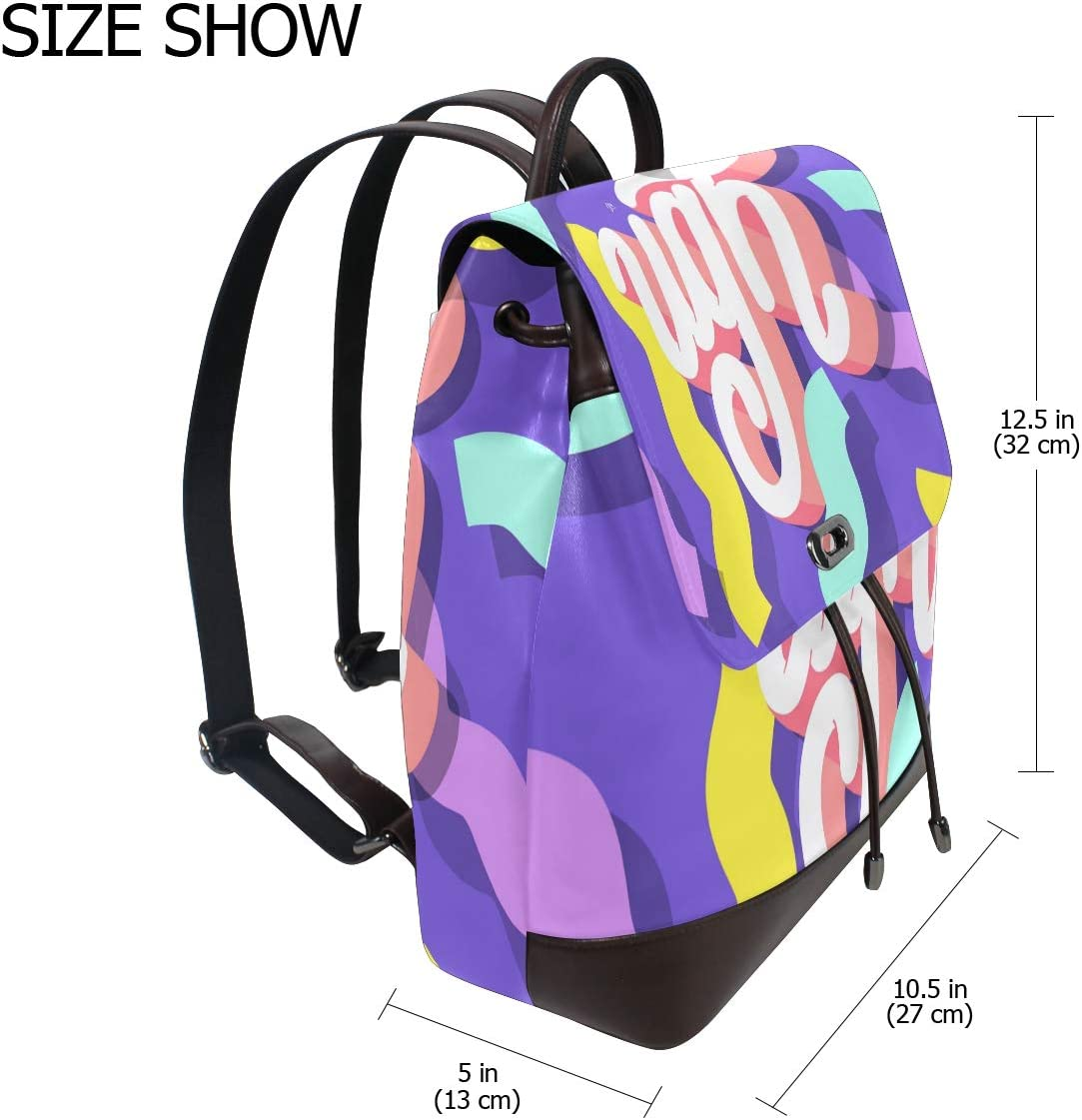 Storage Bag For Men Women Girls Boys Personalized Pattern Ugh Shopping Bag Backpack Travel Bag School Bag