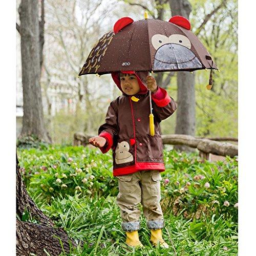 monkey umbrella with matching raincoat and bag