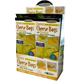 "Forever Thick Reusable Antimicrobial Cheese Bags with a Zipper (10-Pack), Measures 9"" x 12"""