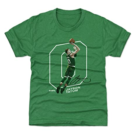 new style 3086a a5cec 500 LEVEL Jayson Tatum Boston Basketball Kids Shirt - Jayson Tatum Outline