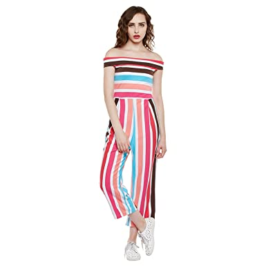 The Silhouette Store Women Striped Jumpsuit 1968448031 Multi