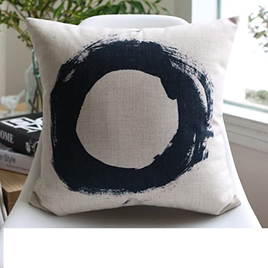 elefante geométrica nórdica/algodón almohada de plumas/Retro ...