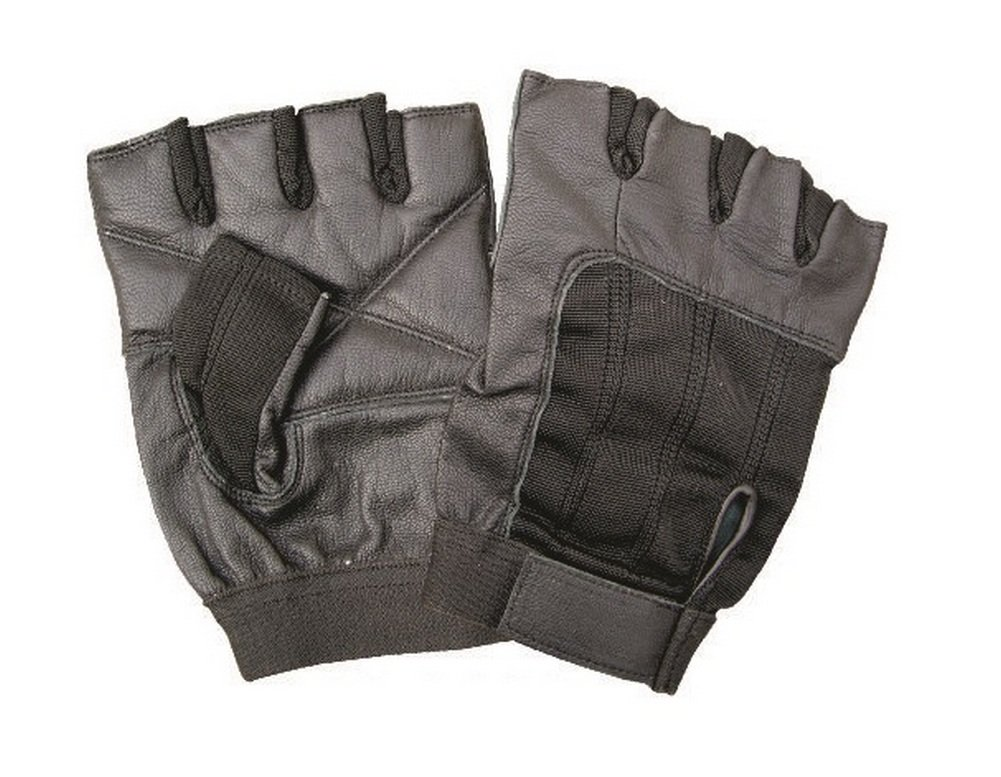 Unisex Adult AL3002 Fingerless glove Small Black