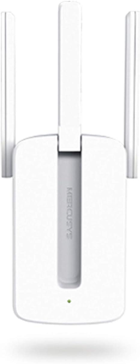 Mercusys Repetidor de WiFi N 300Mbps Extensor de Red WiFi Amplificador Inalámbrico MW300RE (N300, 2 Antenas externas)