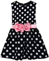 Little Girls Summer Clothes Polka Dot Party Pageant Princess Dresses