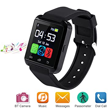 Letopro Smartwatch Bluetooth Reloj Inteligente Android iOS 431106467b0