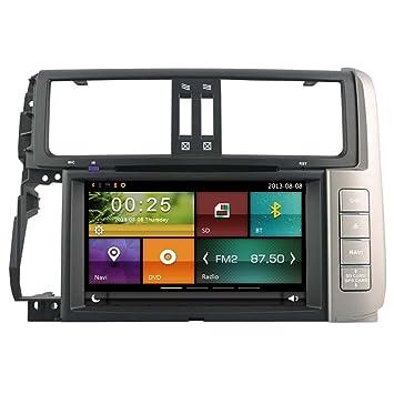 autosion coche reproductor de DVD GPS Radio estéreo unidad central para Toyota Land Cruiser Prado 150