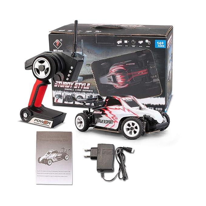 Ycco Rápido fuera de la carretera RC Racing Car Rc Monster Truck Off Road 4x4, RTR 4wd All Terrain Radio Control remoto al aire libre Eléctrico Offroad ...