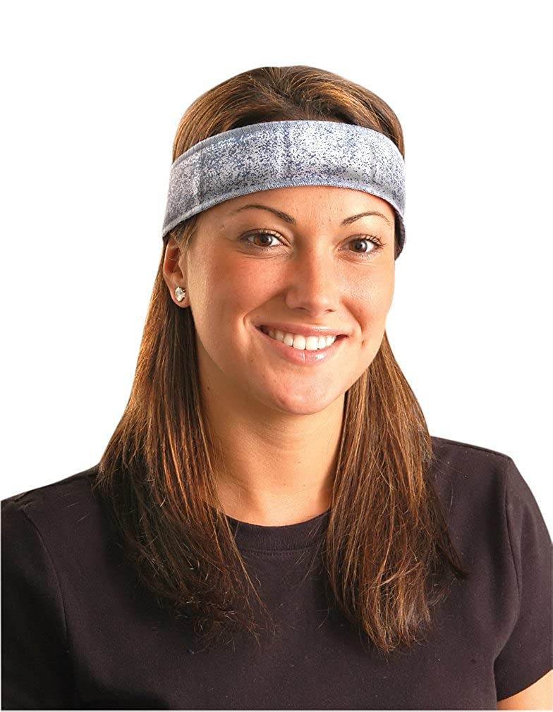 Cooling Lasts Hours OccuNomix 2PCK-Miracool Headband DENIM Re-Usable