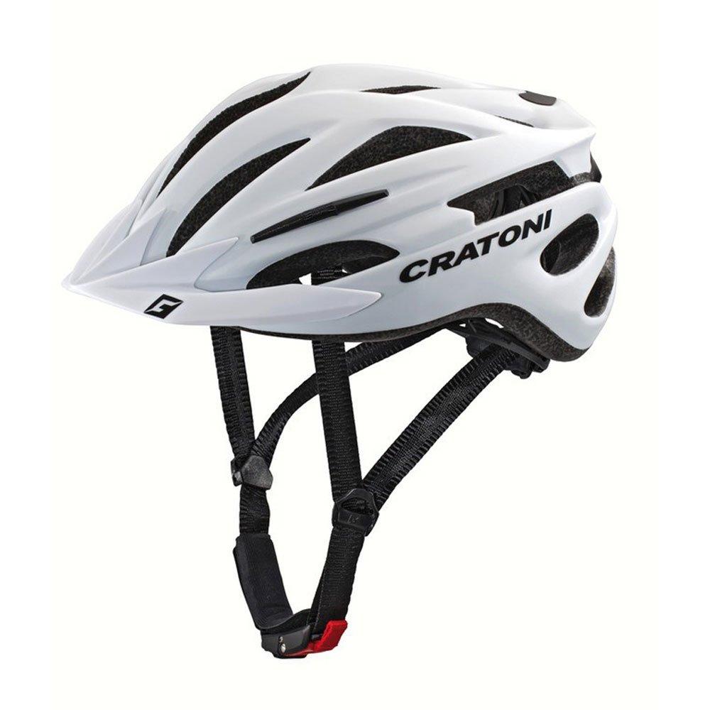 Cratoni Casco Pacer MTB Talla S/M 54–58cm Blanco Mate .