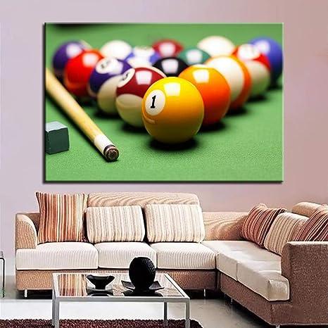 Knncch Billar y cue Cuadros de pared para sala de estar Decoración moderna para el hogar Cartel Estilo nórdico Minimalista Lienzo Arte Hd Impresión Pintura-30x40cm: Amazon.es: Bricolaje y herramientas