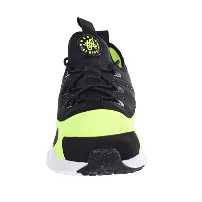 31abc29f92 Amazon.com | Nike Huarache Drift Little Kids Shoes Volt/Black-White  aa3503-700 | Athletic