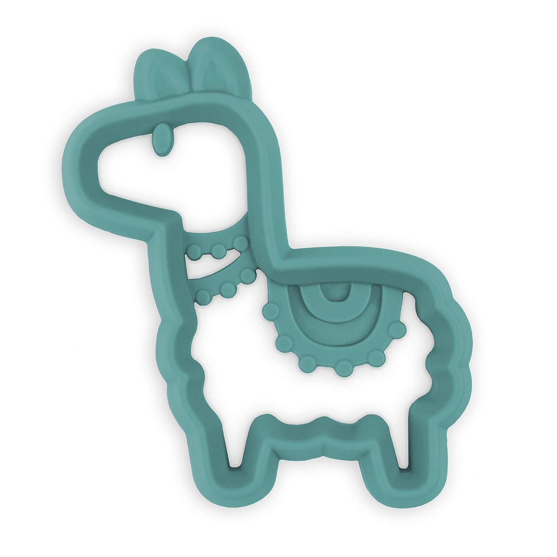 Itzy Ritzy Silicone Baby Teether, Llama