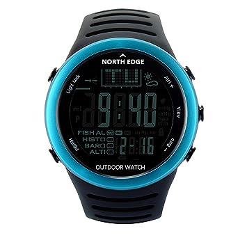 Reloj Digital para Hombre y Mujer, para Actividades al Aire Libre, Deportivo, Impermeable