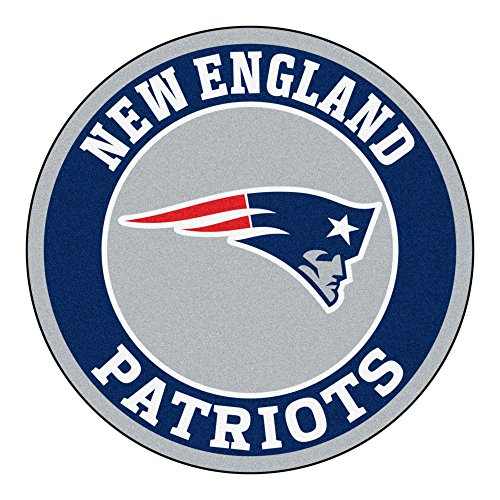 FANMATS 17966 NFL New England Patriots Roundel Mat (Rug Floor England)