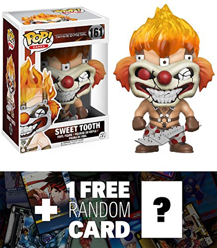Sweet Tooth: Funko POP! x Twisted Metal Vinyl Figure + 1 FREE Video Games Themed Trading Card Bundle (117098)