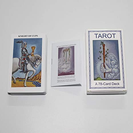 Airoads 78 Tarot Cards Deck with Guidebook Classic Tarot Deck Full Version Commemorative Edition