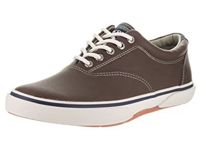 Sperry Top-Sider Men's Halyard LL CVO Leather Brown Sneaker 8 M ...