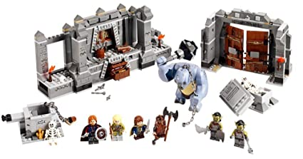 LEGO Lord of the Rings LOTR Mines of Moria w/ Six Minifigures Cave Troll |