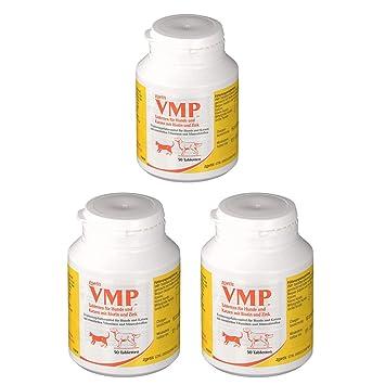 VMP pastillas para perro y gato, 3 x (a 50 pastillas, Original.