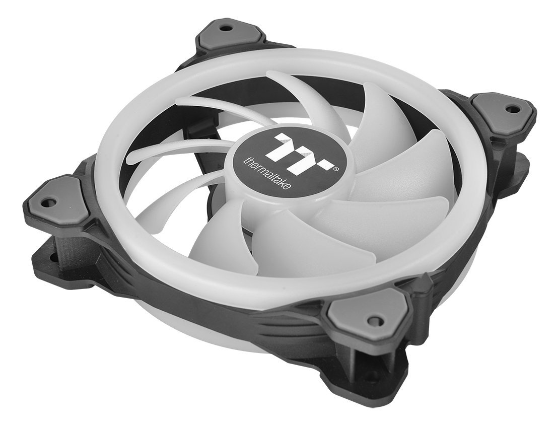 Thermaltake Riing Trio 12 RGB TT Premium Edition 120mm Software Enabled 30 Addressable LED 9 Blades Case/Radiator Fan - 3 Pack - CL-F072-PL12SW-A by Thermaltake (Image #13)