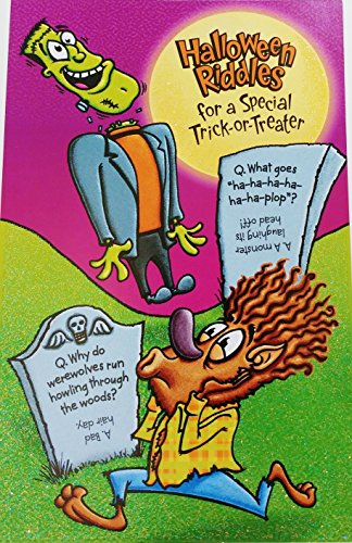 Halloween Riddles for a Special Trick-or-Treater Greeting Card - Cool Funny]()