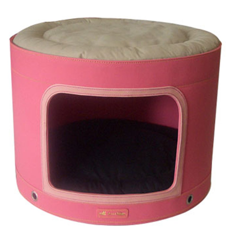 Bed Circle color double pet Kennel small dog-A 46x46cm(18x18inch)