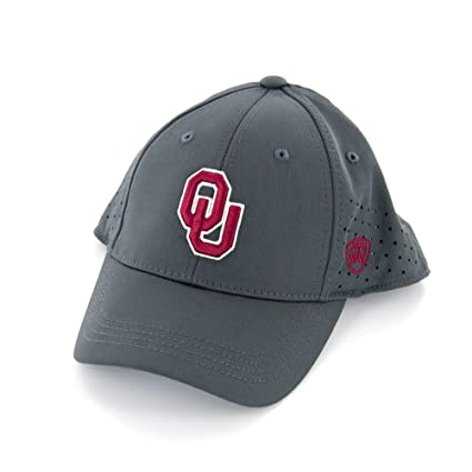 timeless design 7160d 82b46 Image Unavailable. Image not available for. Color  Top of the World Jock II  OU Charcoal Grey Hat
